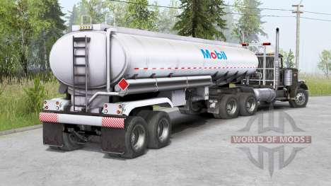 Peterbilt 379〡three colors to choose from for Spin Tires