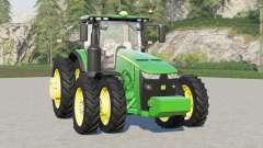 John Deere 8R series〡real wheels configurations for Farming Simulator 2017