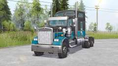 Kenworth W900 6x6 v1.1 for Spin Tires