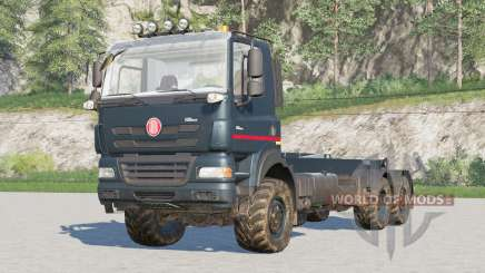Tatra Phoenix T158 6x6 Hooklift for Farming Simulator 2017