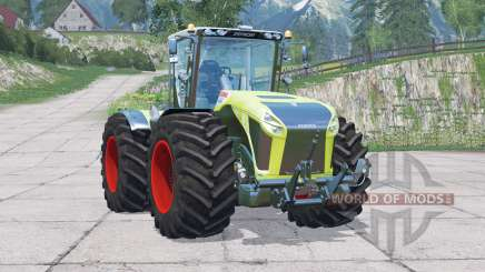 Claas Xerion 4500 Trac VC〡wipers animation for Farming Simulator 2015