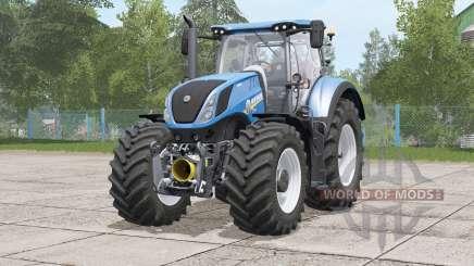 New Holland T7 series〡folding steering column for Farming Simulator 2017