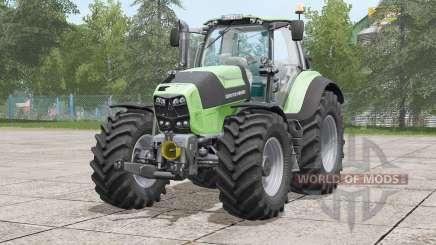 Deutz-Fahr Serie 7 TTV Agrotron〡visual extras for Farming Simulator 2017