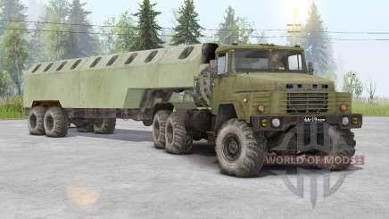 KrAZ-260D for Spin Tires