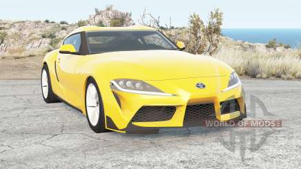 Toyota GR Supra (A90) for BeamNG Drive