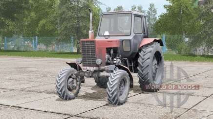 MTZ-82 Belarus engine vibration for Farming Simulator 2017