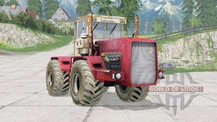 Kirovec K-710〡added wheels for Farming Simulator 2015