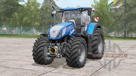 New Holland T7 serieѕ for Farming Simulator 2017