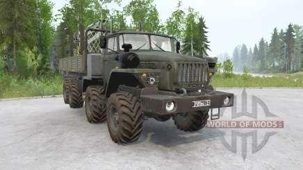 Ural-6614 for MudRunner