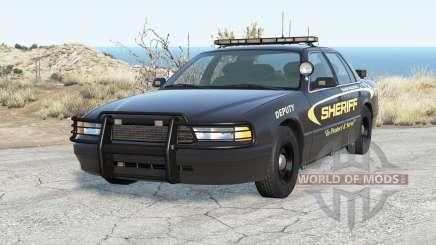 Gavril Grand Marshall Sandy Mountain Sheriff for BeamNG Drive