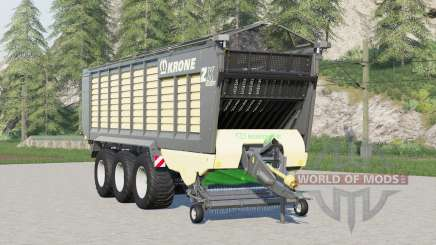 Krone ZX 560 GD〡with or without cover for Farming Simulator 2017