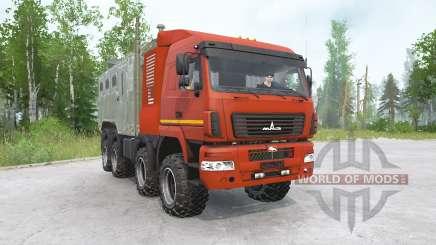 MAZ-6516V9-481-000 8x8 for MudRunner