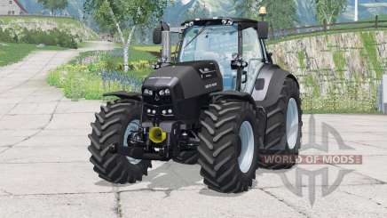 Deutz-Fahr 7250 TTV Warrior〡dashboard lighting for Farming Simulator 2015
