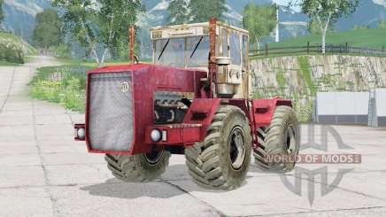 Kirovec K-710〡animated dashboard for Farming Simulator 2015