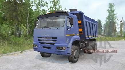 KAMAZ-652Զ for MudRunner