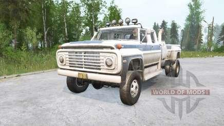 Ford F-750 for MudRunner