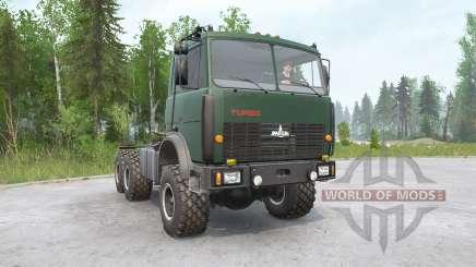 MAZ-6425 for MudRunner