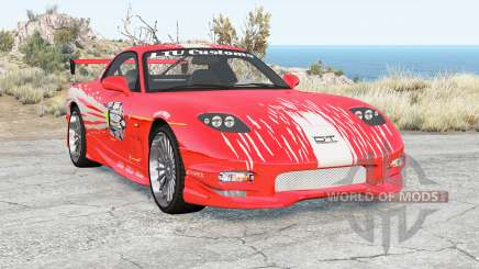 Mazda RX-7 Fast & Furious v1.1 for BeamNG Drive