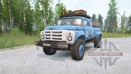ZIL-133 pickup for MudRunner