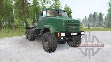 KrAZ-6446 for MudRunner