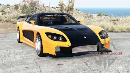Mazda RX-7 VeilSide Fortune v2.0 for BeamNG Drive