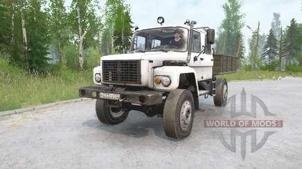 TUZ 108 Warthog for MudRunner