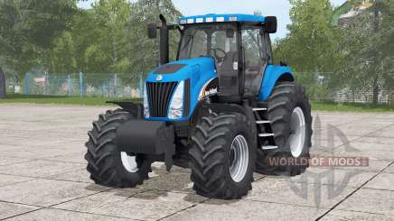 New Holland TG series〡real sound for Farming Simulator 2017