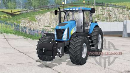 New Holland TG285〡purchasable front weights for Farming Simulator 2015