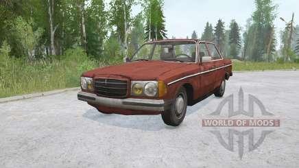 Mercedes-Benz 200 (W123) for MudRunner