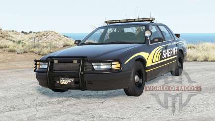 Gavril Grand Marshall River Highway County Sheriff for BeamNG Drive