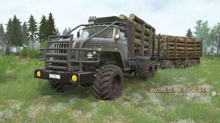 Ural-43Զ0 for MudRunner