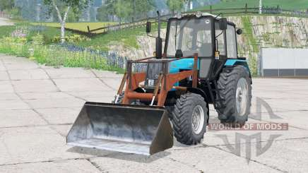MTZ-1025 Belarus〡PKU-0,8 for Farming Simulator 2015