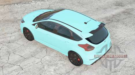 Ford Focus RS (DA3) 2016 for BeamNG Drive