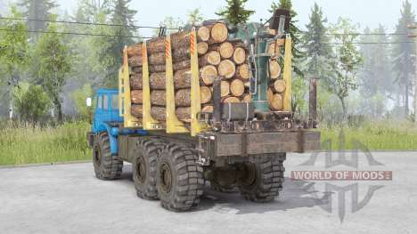 MoAZ-74111 for Spin Tires