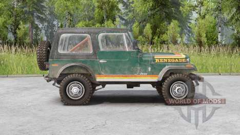 Jeep CJ-7 Renegade for Spin Tires