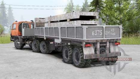 Tatra T815〡adass own cargo for Spin Tires