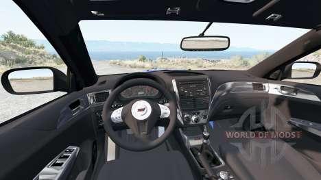 Subaru Impreza WRX STI (GRB) 2008 for BeamNG Drive