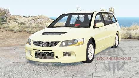Mitsubishi Lancer Evolution IX Wagon 2005 for BeamNG Drive