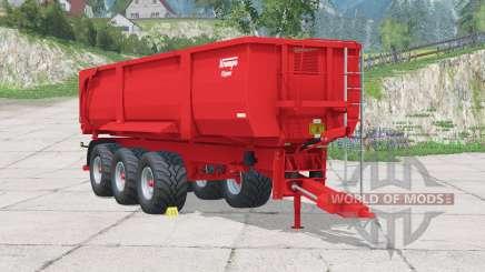 Krampe Big Body 900 for Farming Simulator 2015