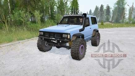 Nissan Patrol Hard Top (260) for MudRunner