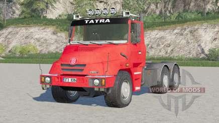Tatra T163 6x4 Jamal Tractor Truck 1999 for Farming Simulator 2017