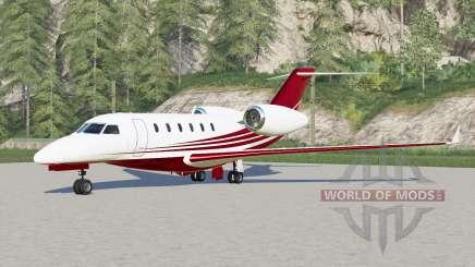 Learjet 75 for Farming Simulator 2017