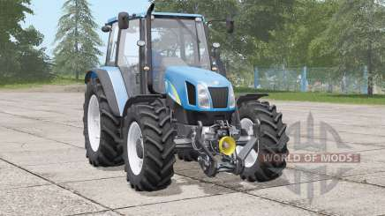 New Holland T5000 series〡includes front weight for Farming Simulator 2017