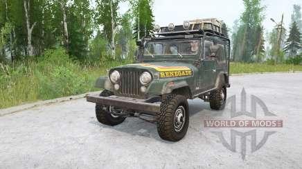 Jeep CJ-7 Renegade for MudRunner