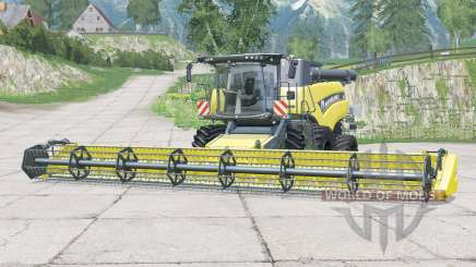 New Holland CR9.90〡with several improvements for Farming Simulator 2015