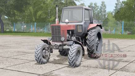 MTZ-82 Belarus 41214 three wheel variants for Farming Simulator 2017