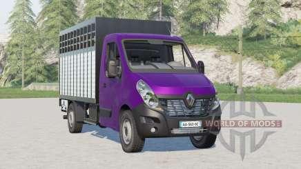 Renault Master Livestock Truck for Farming Simulator 2017