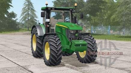 John Deere 6R series〡new steering wheel for Farming Simulator 2017