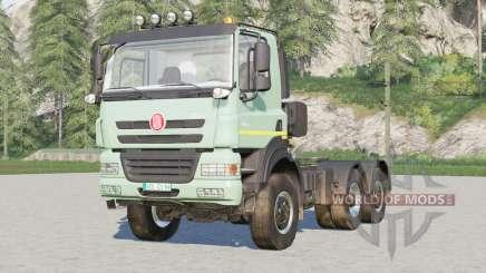 Tatra Phoenix T158 6x6 Tractor Truck 2012 for Farming Simulator 2017