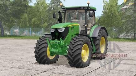 John Deere 6R serᶖes for Farming Simulator 2017
